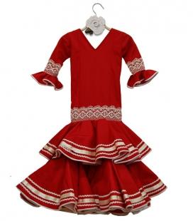 Girls Flamenco Dress, Size 2