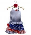 Flamenco Dress Girls, Size 3