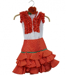 Flamenco costume for Girls Size 4
