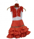 Spanish Costume For Kids, Size 4