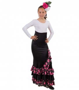 Girls Flamenco Skirt - Mod Estrella