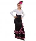 Girls Flamenco Skirt - Mod Estrella