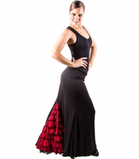Flamenco Dance Skirt, Model Albaicín