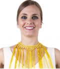 Women's choker with fringes