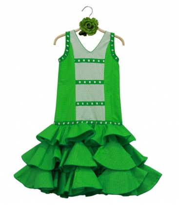 Girls Flamenco Dresses, Size 7