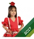 Girls Flamenco Dress 2017
