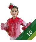 Flamenco Dresses Girl - Size 10
